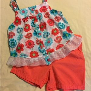 Shorts/Top Set Size 6